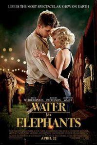 Water for Elephants, Robert Pattinson, Reese Witherspoon, Francis Lawrence, Mookology, Jacob Jankowski, Marlena