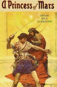 A Princess of Mars, Book Cover, Edgar Rice Burroughs, Mookology, Review