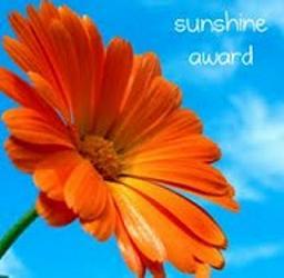 Sunshine Blog Award