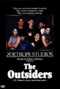 The Outsiders, S.E. Hinton, Movie cover, Book Cover, greasers, Socs, ponyboy curtis, sodapop curtis