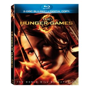 The Hunger Games DVD Blu Ray Jennifer Lawrence Josh Hutcherson Lionsgate Katniss Everdeen Peeta Mellark Suzanne Collins